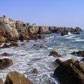 Le Croisic: vue sur la mer....