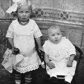 Gerda und Bruno LANGE, Kinder von Otto + Elisabeth LANGE