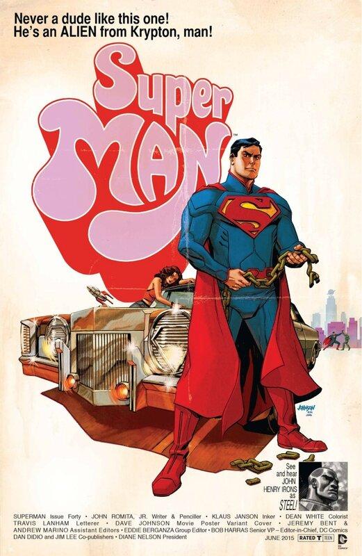 superman 40 movie variant