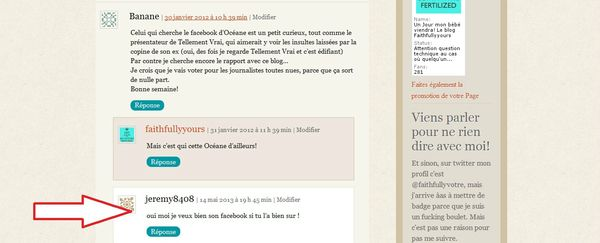 commentaire chelou