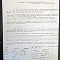 Ma première action syndicale en 1973