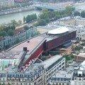 Musée du quai Branly depuis la Tour Eiffel