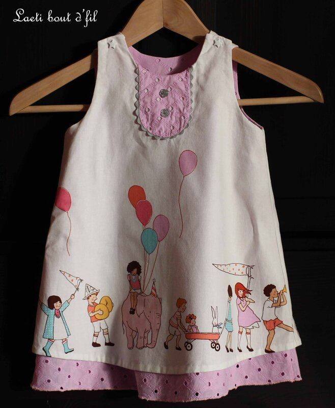 robe trapèze dv
