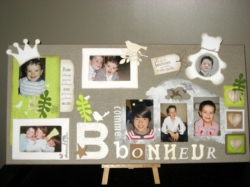 home d co et cadre scrapbooking album photos au bonheur de cr er. Black Bedroom Furniture Sets. Home Design Ideas