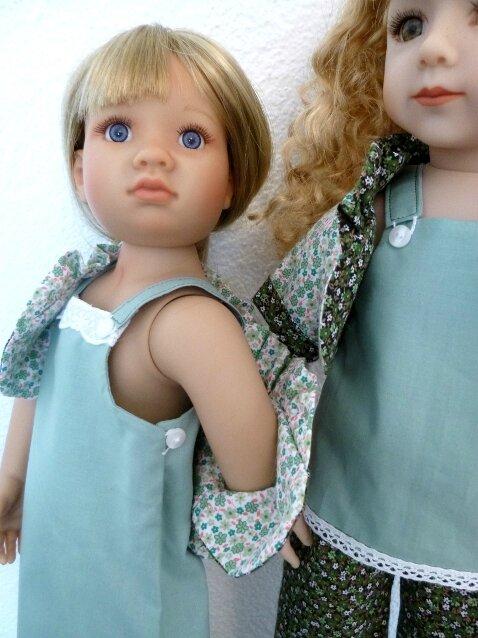 CATWALK : détail emmanchure et haut robe