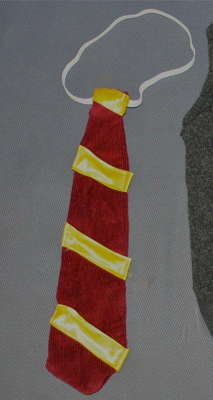 dernier style de 2019 le moins cher juste prix La cravate de Harry Potter - Le blog de Mimi la Bidouille