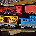 00210 convoi ferroviaire farwest marque tudor rose