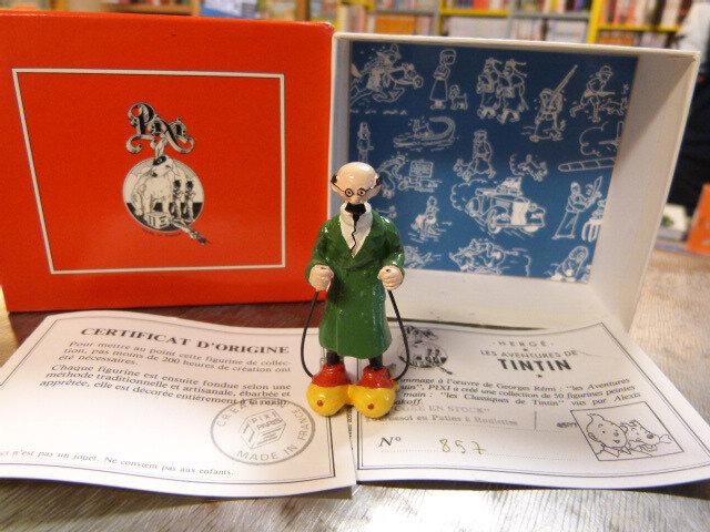"""Pixi """"Coke en stock"""" Tournesol en patins à roulette n° 4507. Les aventures de Tintin par Hergé"""