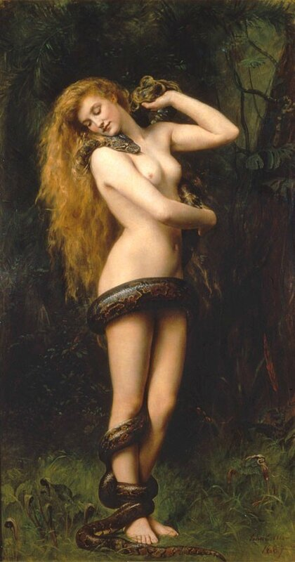 Lilith by John Collier - 1892