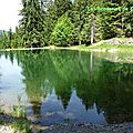 Le lac des Evettes-74