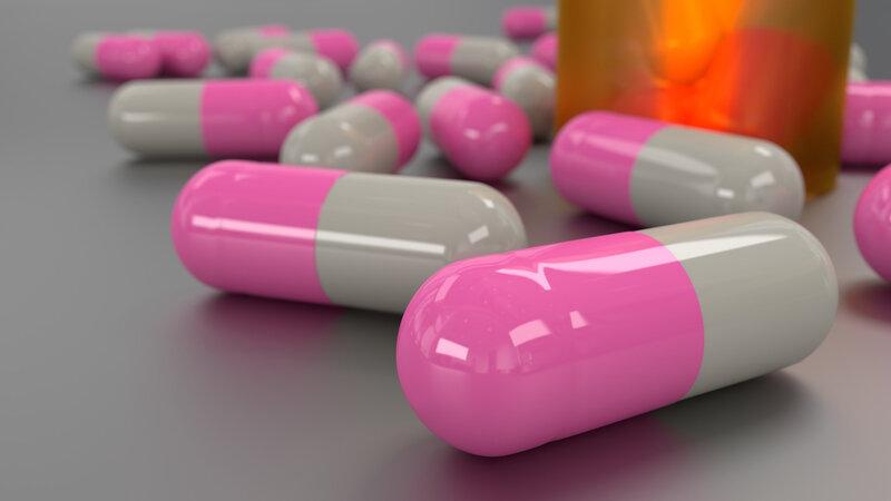 pilules roses