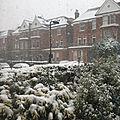 Neige et lumière - snow and light