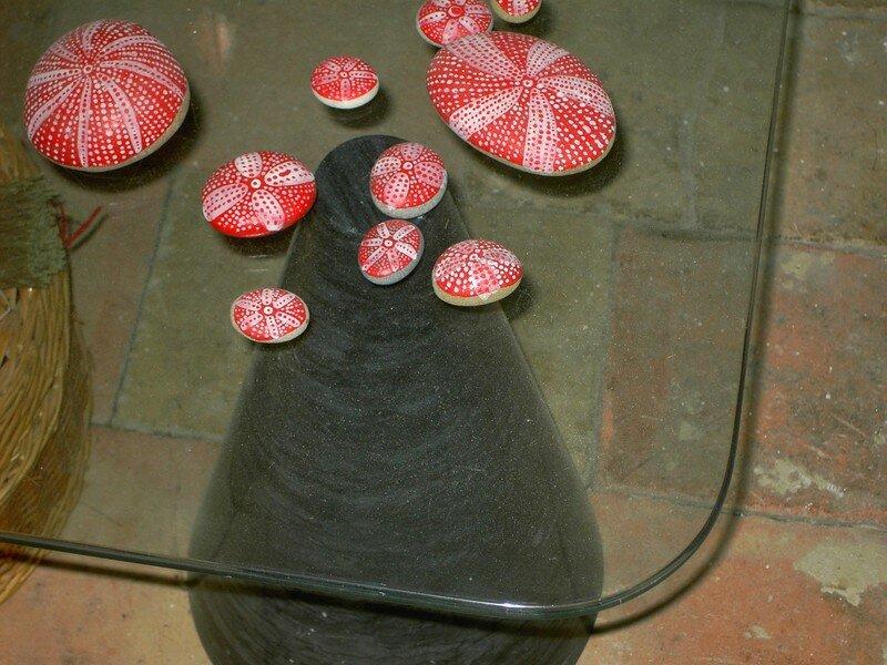 galets du Mugel peints (Sarah)