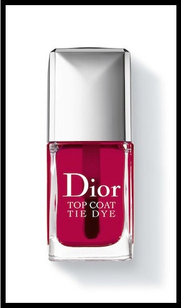 dior tie dye top coat