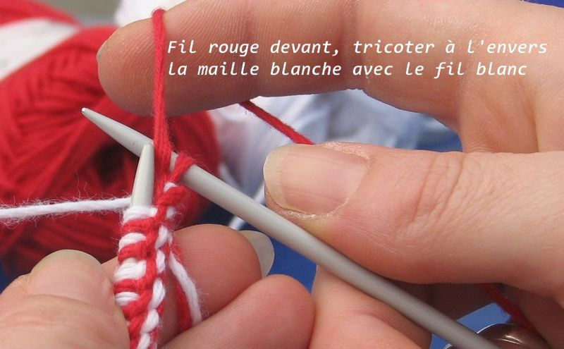Double Knitting Jacquard Réversible Tuto En Images Le