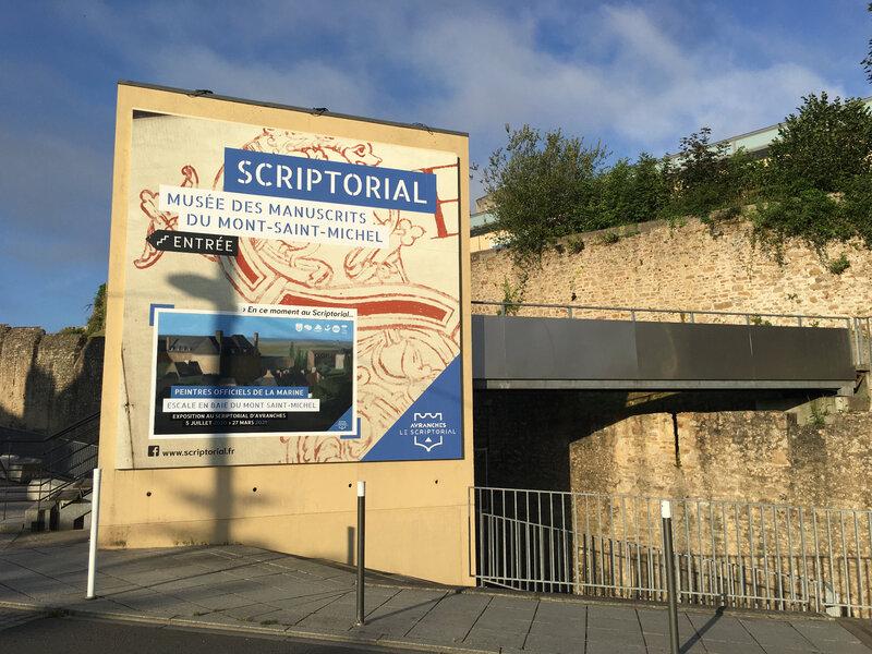 «Peintres Officiels de la Marine. Escale en baie du Mont-Saint-Michel» exposition été 2020 hiver 2021 au Scriptorial d'Avranches