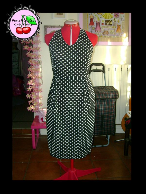 Robe Marylin jupe droite T40 (50eur)