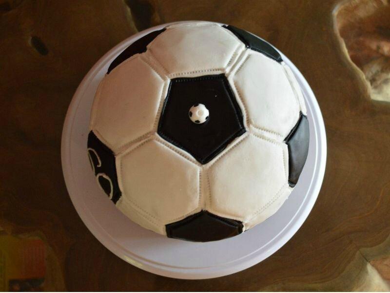 Ballon de foot haut