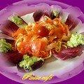 Salade carmine océane