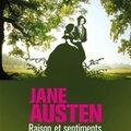 Raison et sentiments, jane austen