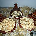 Krichlates de achoura (biscuits sucrés ou salés)