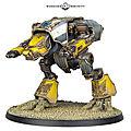 Adeptus titanicus - titan warhound en vue