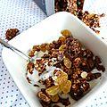 Granola noisette, miel et tonka, de la douceur pour les matins moroses