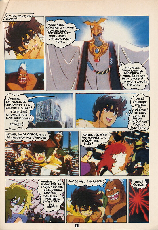 Canalblog Anime Album Anime comics Saint Seiya02 Club Do
