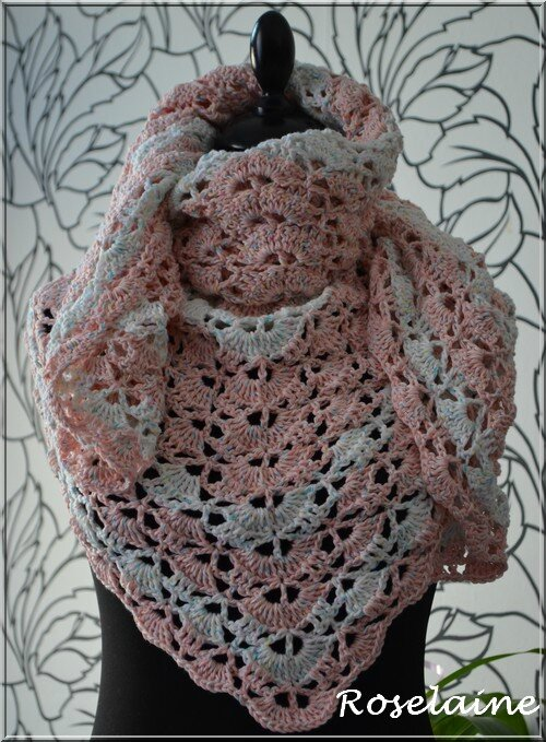 Roselaine 77 South Bay Shawlette