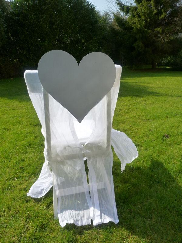 le clip de chaise coeur