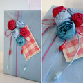 Des paquets en bleu blanc rouge