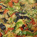 Poêlée de légumes d été
