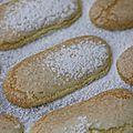 Biscuits à la cuillère faits maison