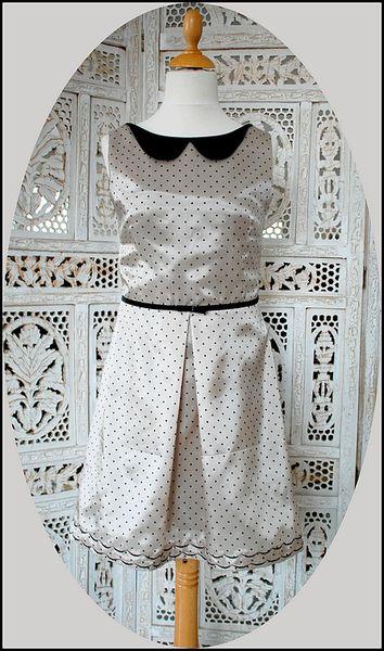 Robe vintage pois