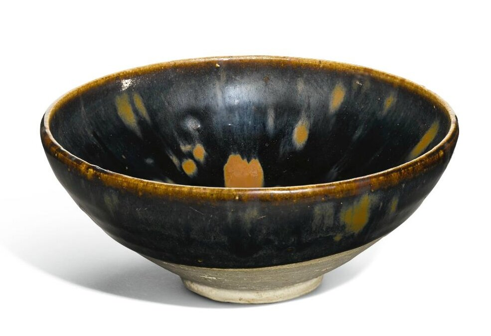A 'Cizhou' black-glazed russet-splashed bowl, Jin dynasty