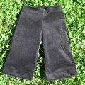 Pantacourt de velours noir - Patron Patrones sept. 2006 - 4 ans