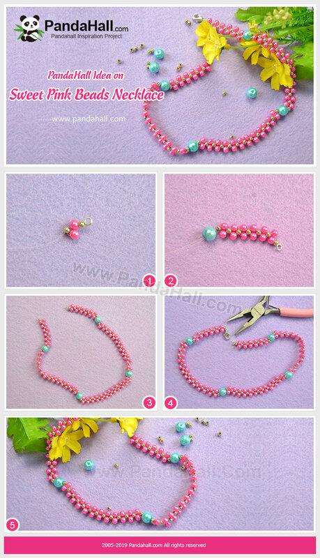 4PandaHall-Idea-on-Sweet-Pink-Beads-Necklace