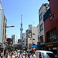 Tokyo - Temple Senso-ji et environ