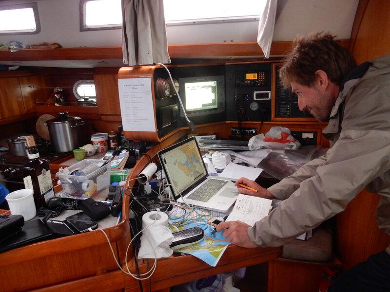 Blind navigation pour Alessandro au départ de Hrmina, 30 octobre 2019 (1)