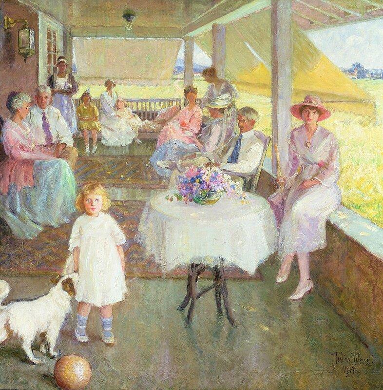 Palmer Pauline - family-gathering-1919-pauline-palmer