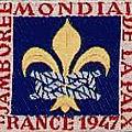 Scoutisme marrakchi : desfontaines (edf), pommier (sdf), calas (euf), années 47-49.