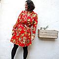 Robe Passiflore Mamy fleurie 05