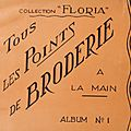 Tous les points de broderie à la main - collection floria