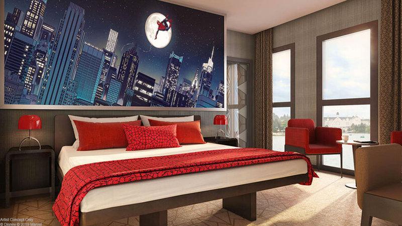 disneys-hotel-new-york-the-art-of-marvel-suite-spiderman2