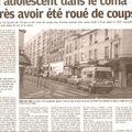 Youpi ! le 13e est en une du parisien !