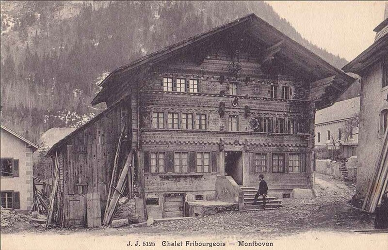 Chalet fribourgeois de Montbovon