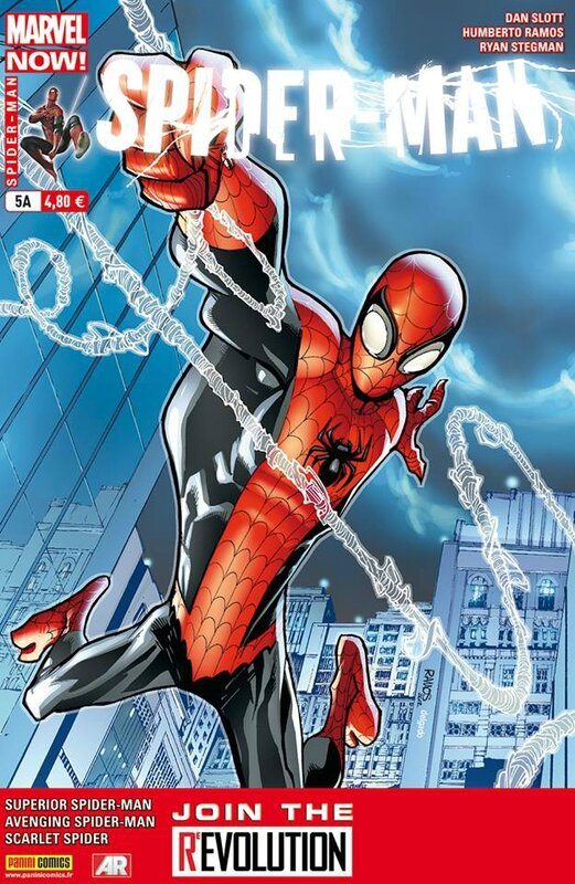 Spiderman V4 n°5 Superior Spiderman Novembre 2013