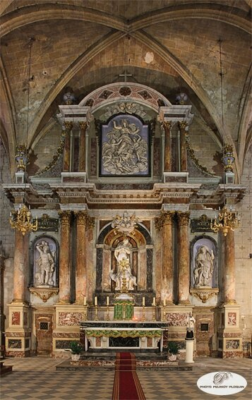 GRENADE_eglise_Notre_Dame_de_l_Assomption_retable_ecole_du_sculpteur_Marc_Arcis