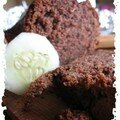 cake chocolat et concombre