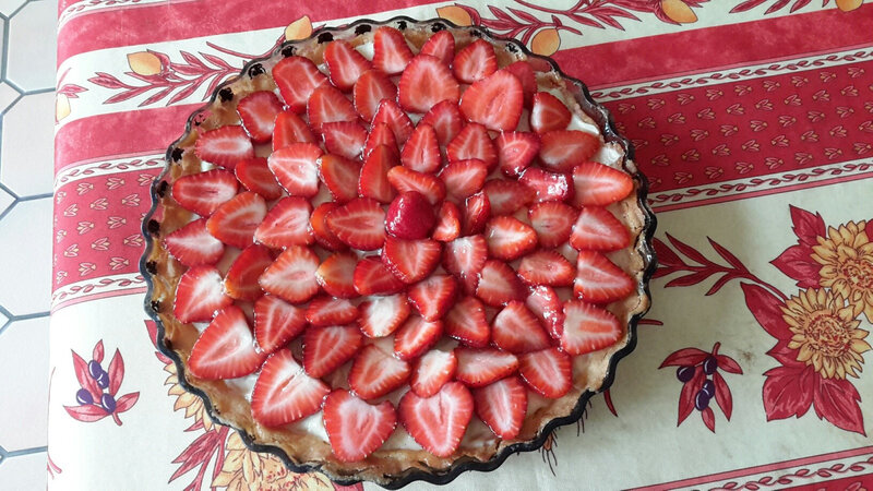 A Anncik tarte aux fraises